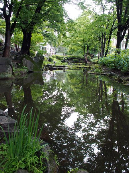 盛岡城跡公園の外堀