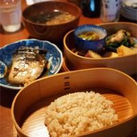 盛岡レストラン「くふや」の玄米定食