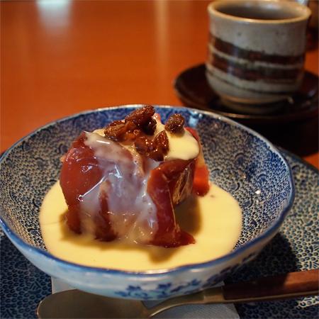 盛岡レストラン「くふや」の焼きリンゴ