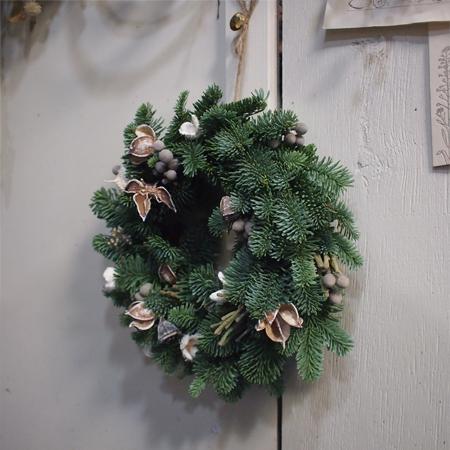 盛岡「kiitosキートス」のクリスマスリース