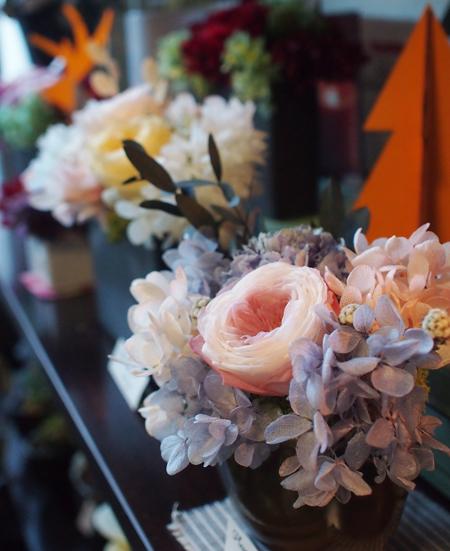 盛岡の花屋「kiitosキートス」のブリザーブドフラワー