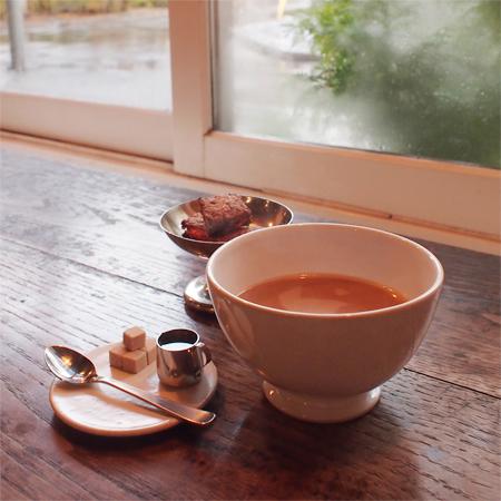 盛岡内丸のカフェcarta(カルタ)の紅茶、チャイ