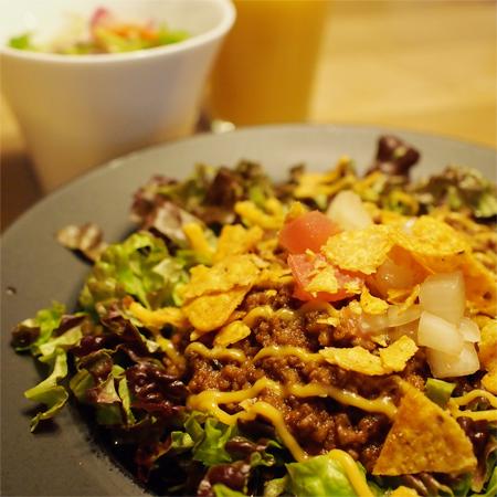 盛岡のカフェレストラン「SABOサボ」のタコライス