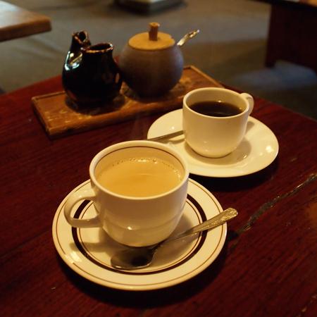 盛岡上ノ橋「一茶寮」のコーヒー