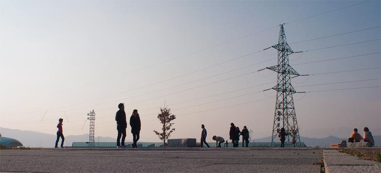 盛岡の岩手県立美術館の公園