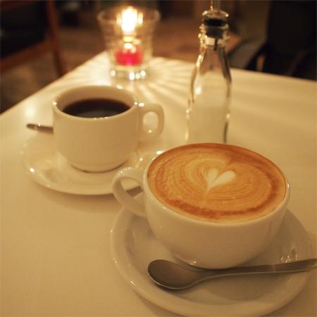 盛岡菜園のカフェ、バー、レストラン「Cafe RHINO カフェ ライノー」のコーヒー