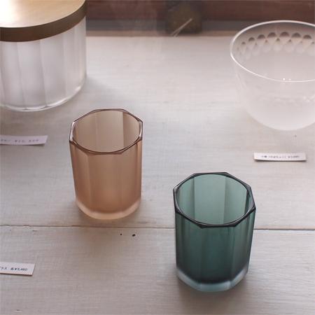 盛岡大館町の雑貨店「raumラウム」のガラスのコップ