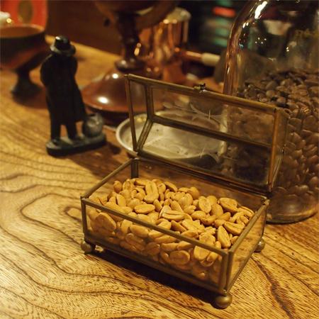 盛岡本町通の喫茶店「機屋」のコーヒー豆