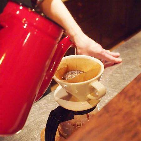 盛岡菜園のカフェ、バー「パノニカ」のコーヒー