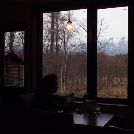 盛岡雫石のカフェ「風光舎」の店内