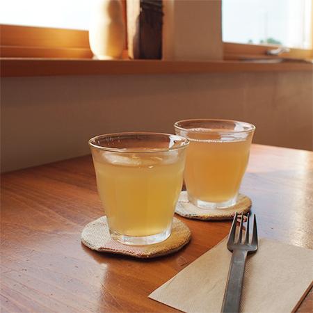 岩手県奥州江刺のMizusaki Note「ミズサキノート」のりんごジュース