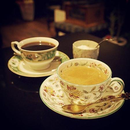 盛岡内丸の純喫茶「リーベ」のコーヒー、紅茶