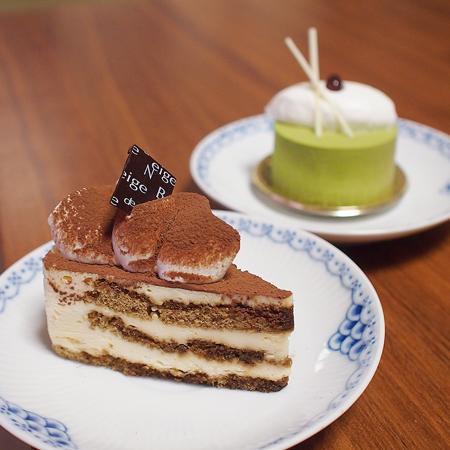 ブールドゥネージュ緑が丘店のケーキ