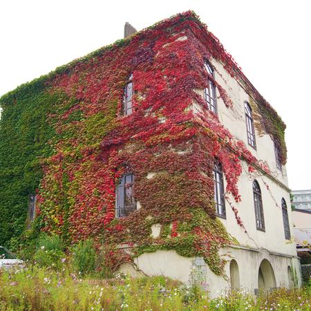 盛岡清水町にある「旧石井県令邸」の外観